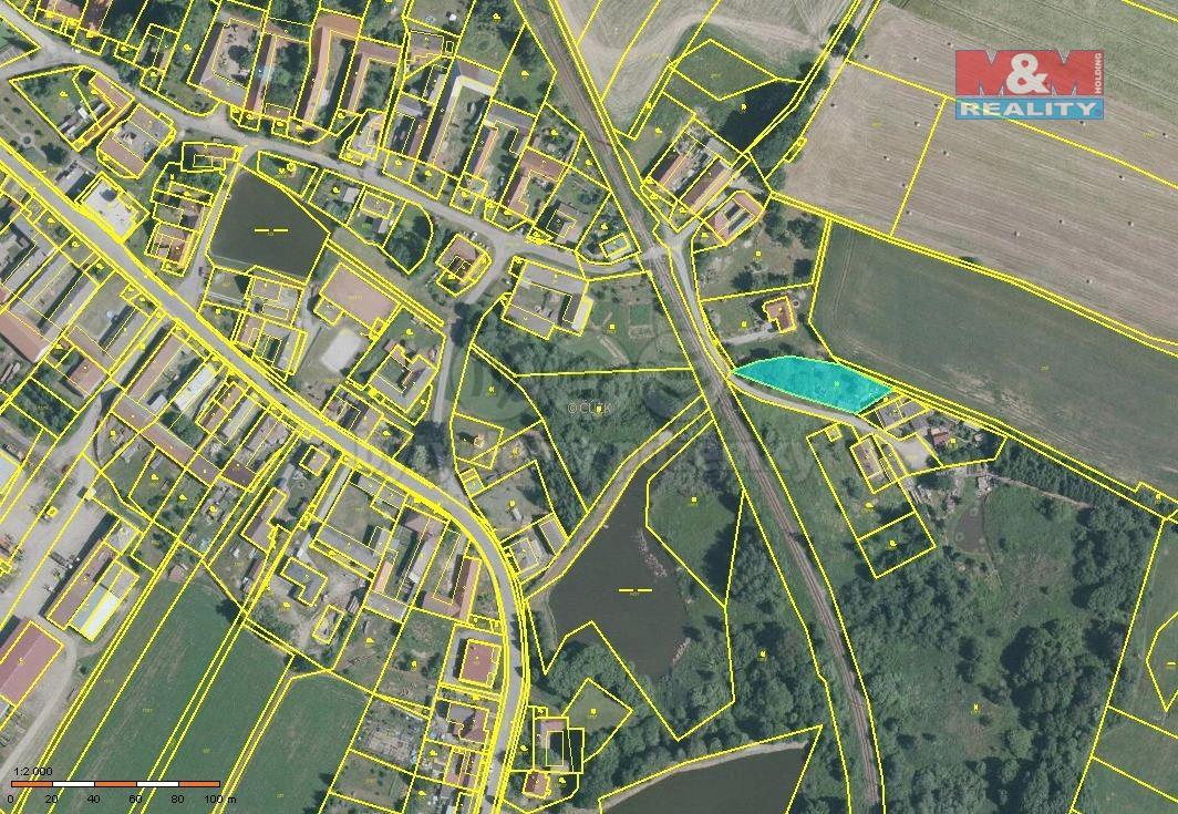Prodej, pozemek k bydlení, 1042 m², Jihlávka