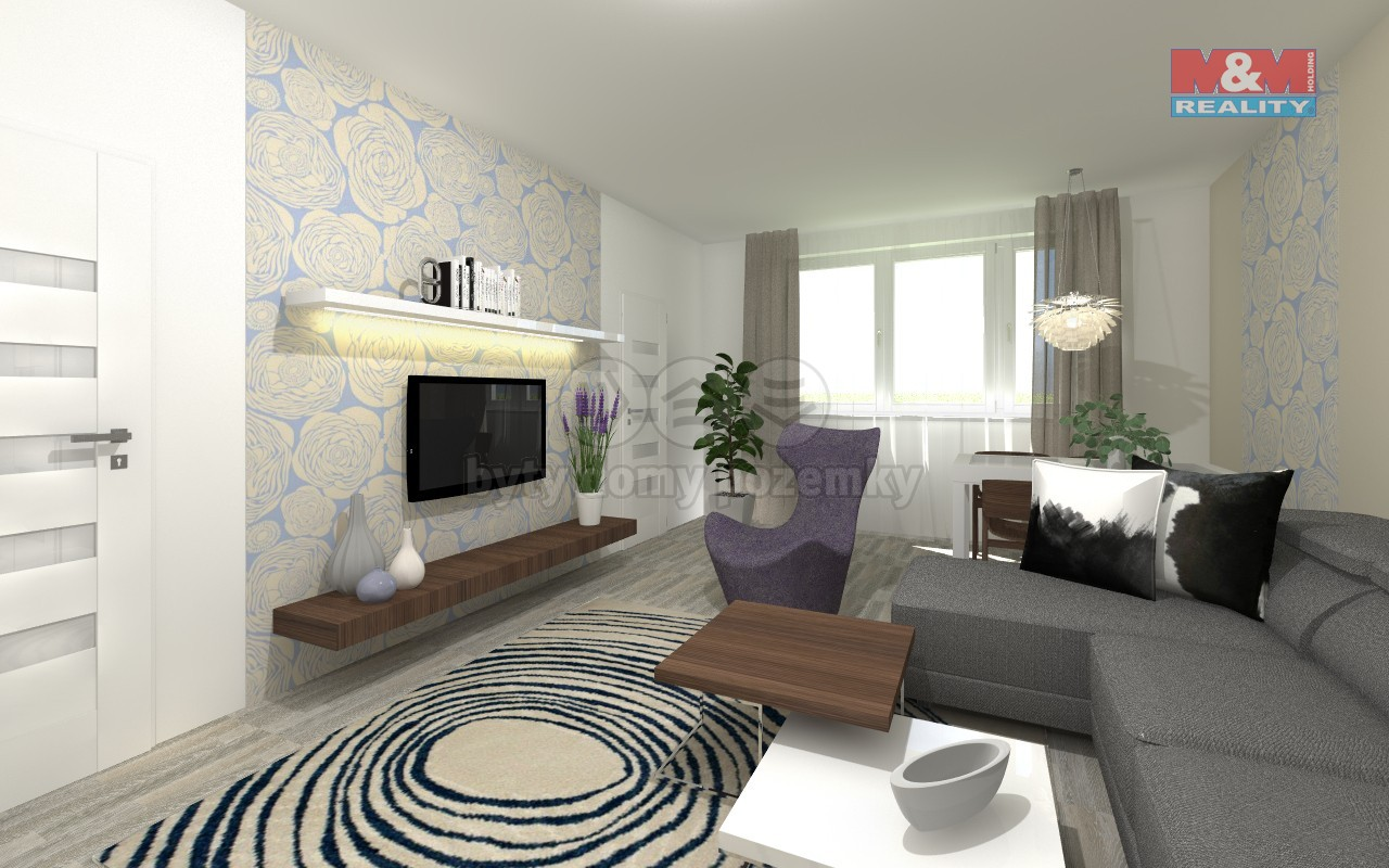 Prodej bytu 3+1, 66 m², Horní Bříza, ul. Sídlištní