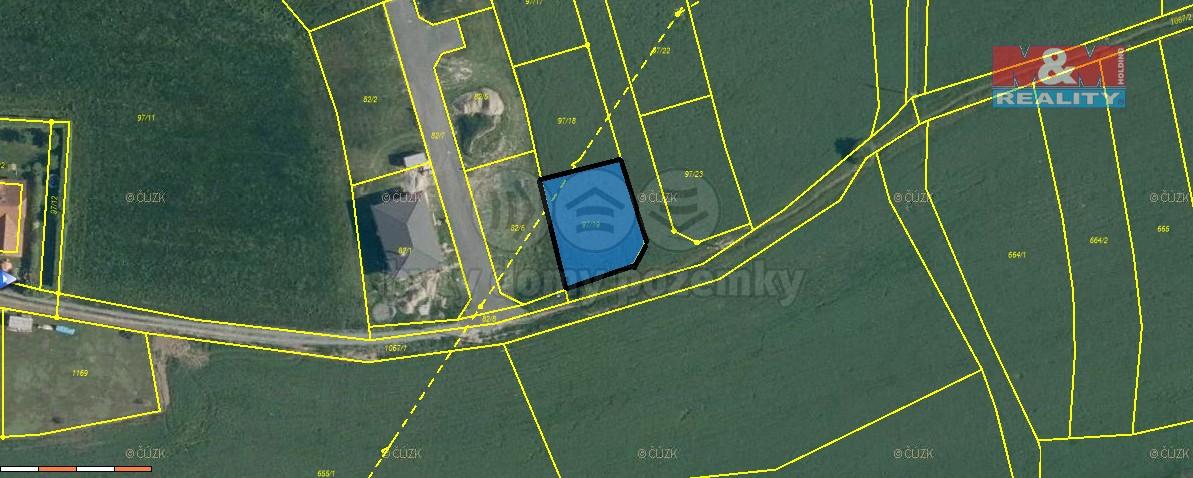 Prodej pozemku k bydlení, 641 m², Břasy