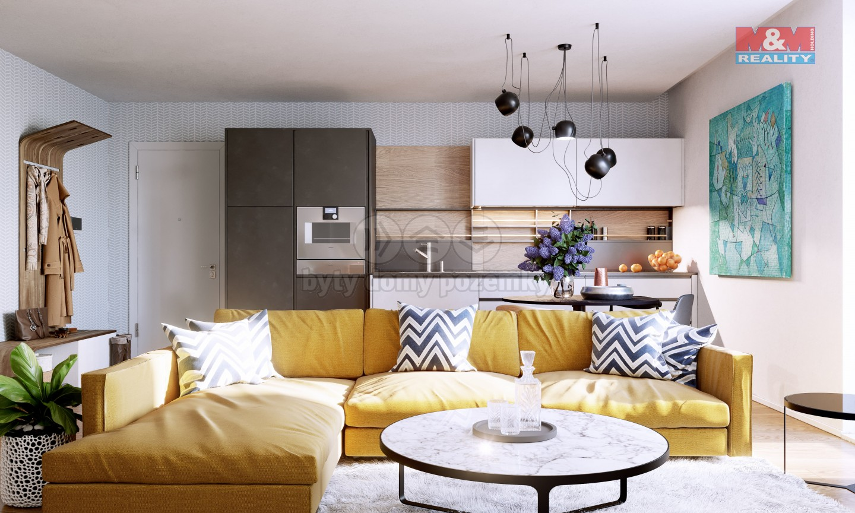 Prodej bytu, 4+kk, 102 m2, Praha - Kněžívka