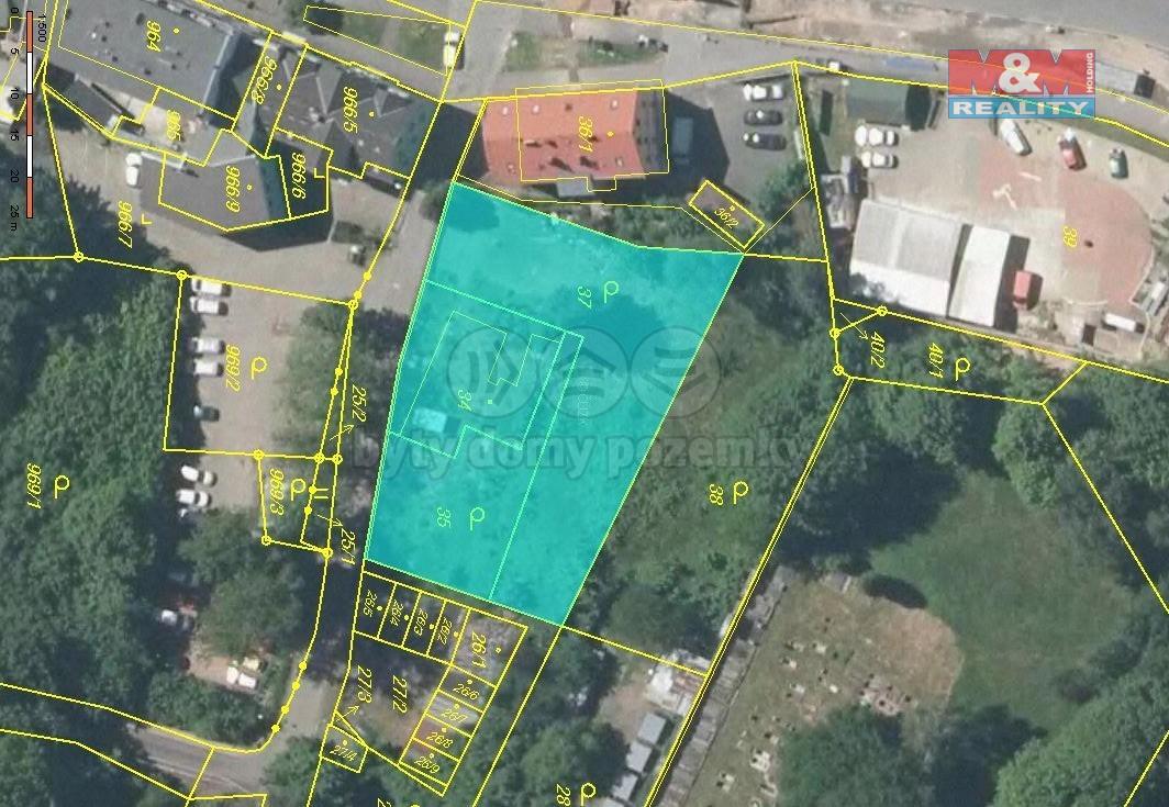 Prodej pozemku k bydlení, 1454 m², Liberec