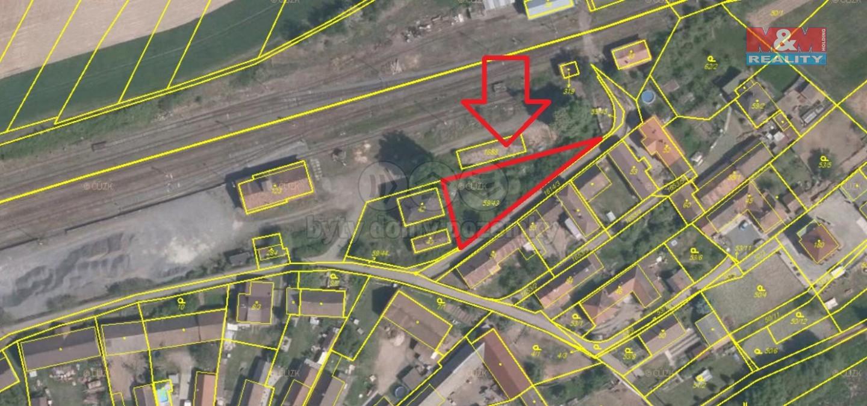 Prodej, stavební pozemek, 660 m2, Mladotice