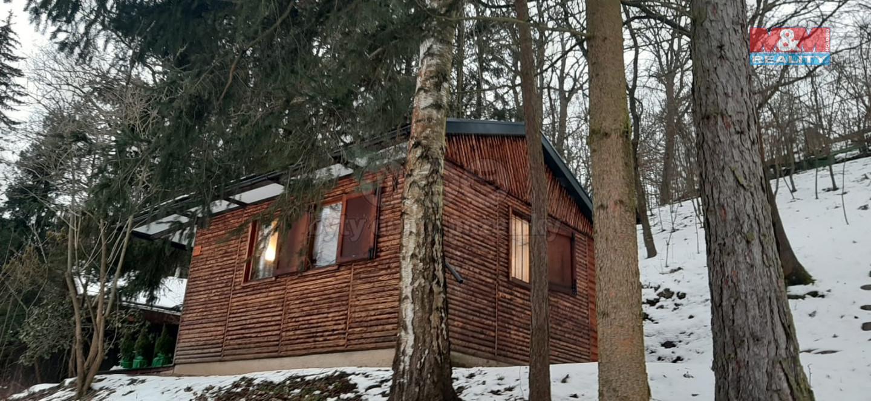 Prodej chaty 25 m2, pozemek 677 m2, Malé Přílepy, Chyňava