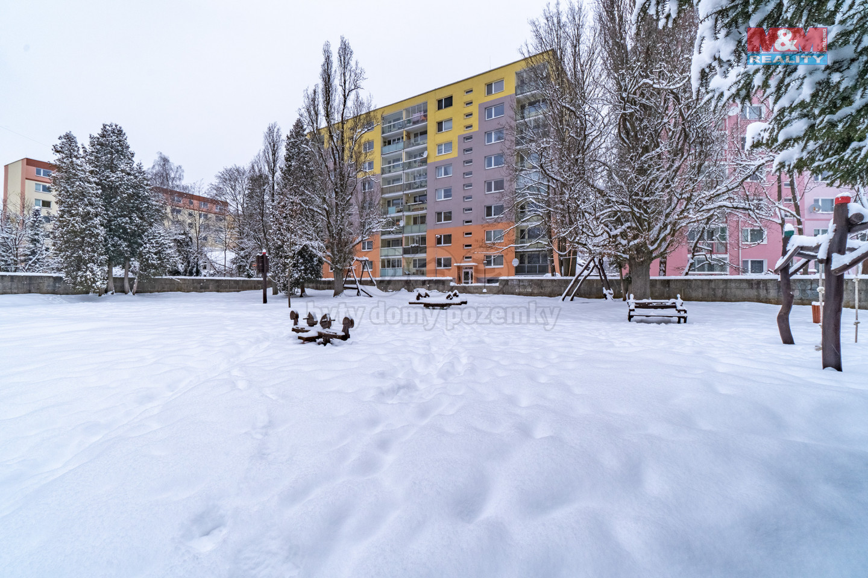 Prodej bytu 3+1+lodžie, DV, 76 m², Mšeno n. N., ul. Pobřežní