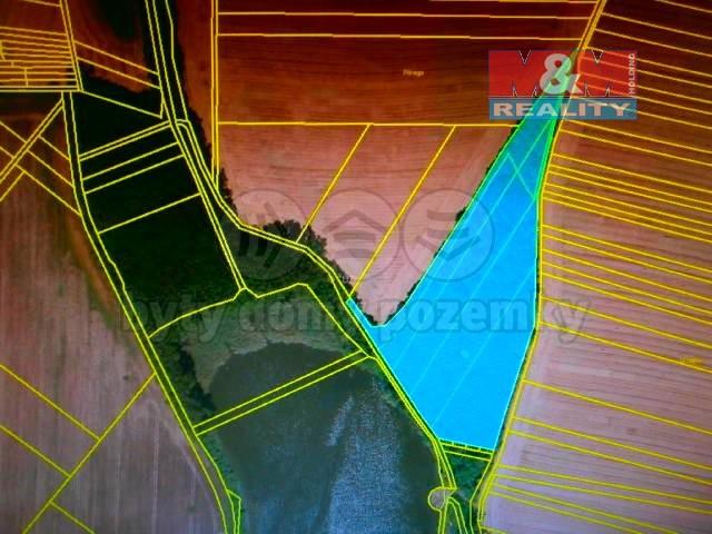 Prodej, les,14248 m2, Ivanovice na Hané
