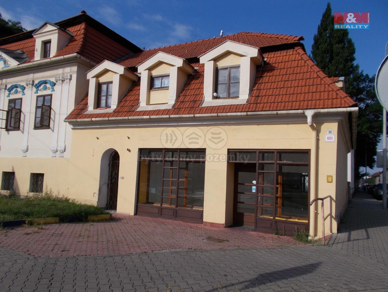 Pronájem obchod a služby, 483 m², Nový Jičín, ul. Sokolovská