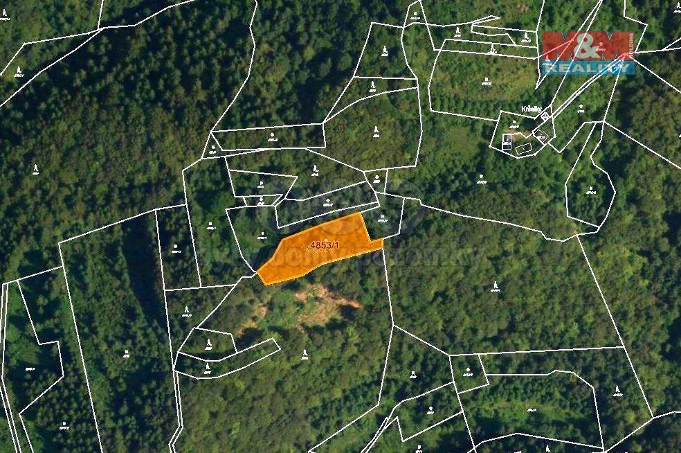 Prodej lesa, 3244 m², Halenkov