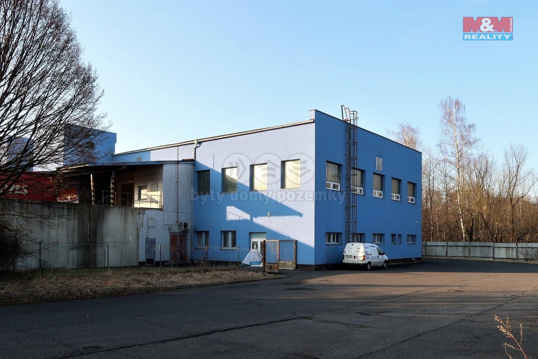 Pronájem výrobního a skladovacího objektu, 782 m2, Liberec