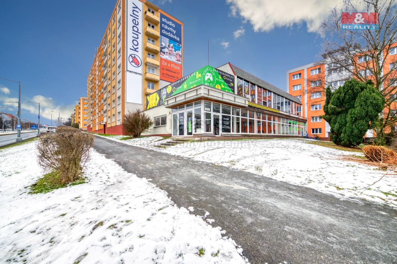 Pronájem obchod a služby, 346 m², Plzeň, ul. Revoluční
