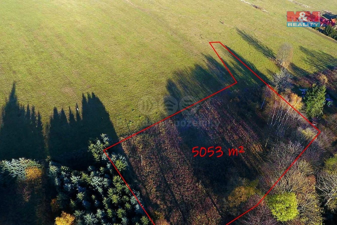 Prodej pozemku k bydlení, 5053 m², Výsluní - Volyně