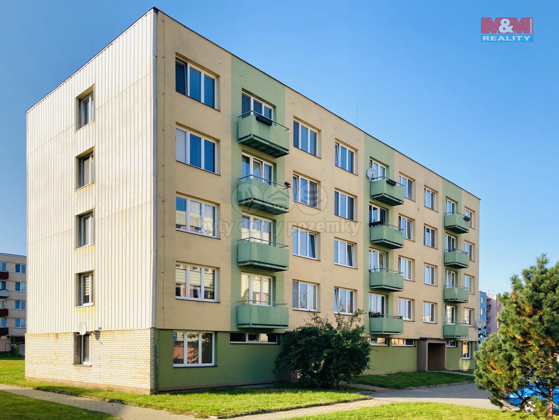 Prodej bytu 3+1, 64 m², České Velenice, ul. Sídl. na Sadech