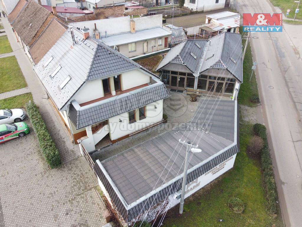Prodej výrobního objektu, 517 m², Hustopeče, ul. Hradní