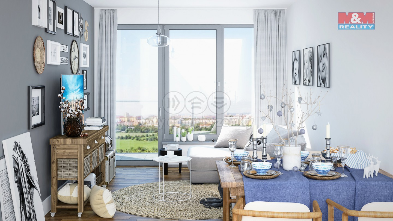 Prodej bytu 2+kk, 57 m2, Praha 9 - Kyje