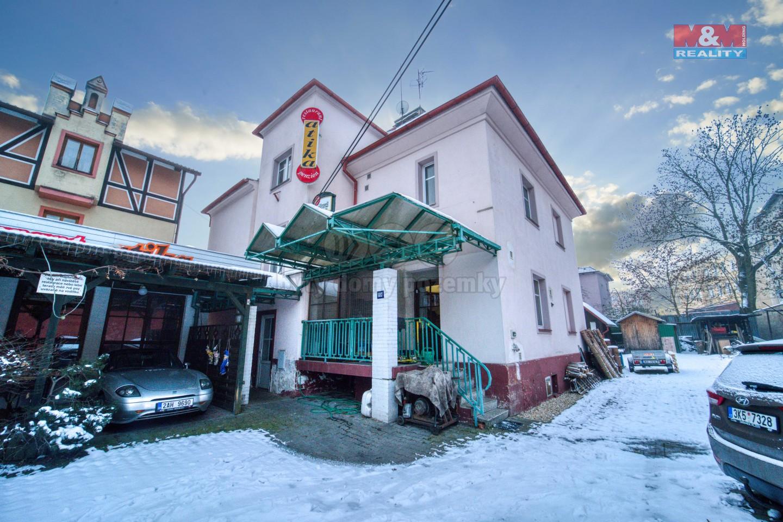 Prodej bytového domu v centru Chebu, ul. Jiráskova