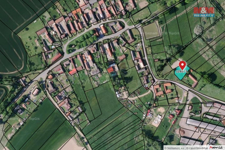Prodej pozemku k bydlení, 1085 m², Běleč