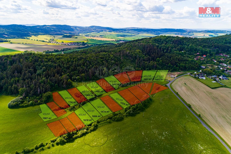 Prodej pozemky k bydlení, Bezděkov - Struhadlo