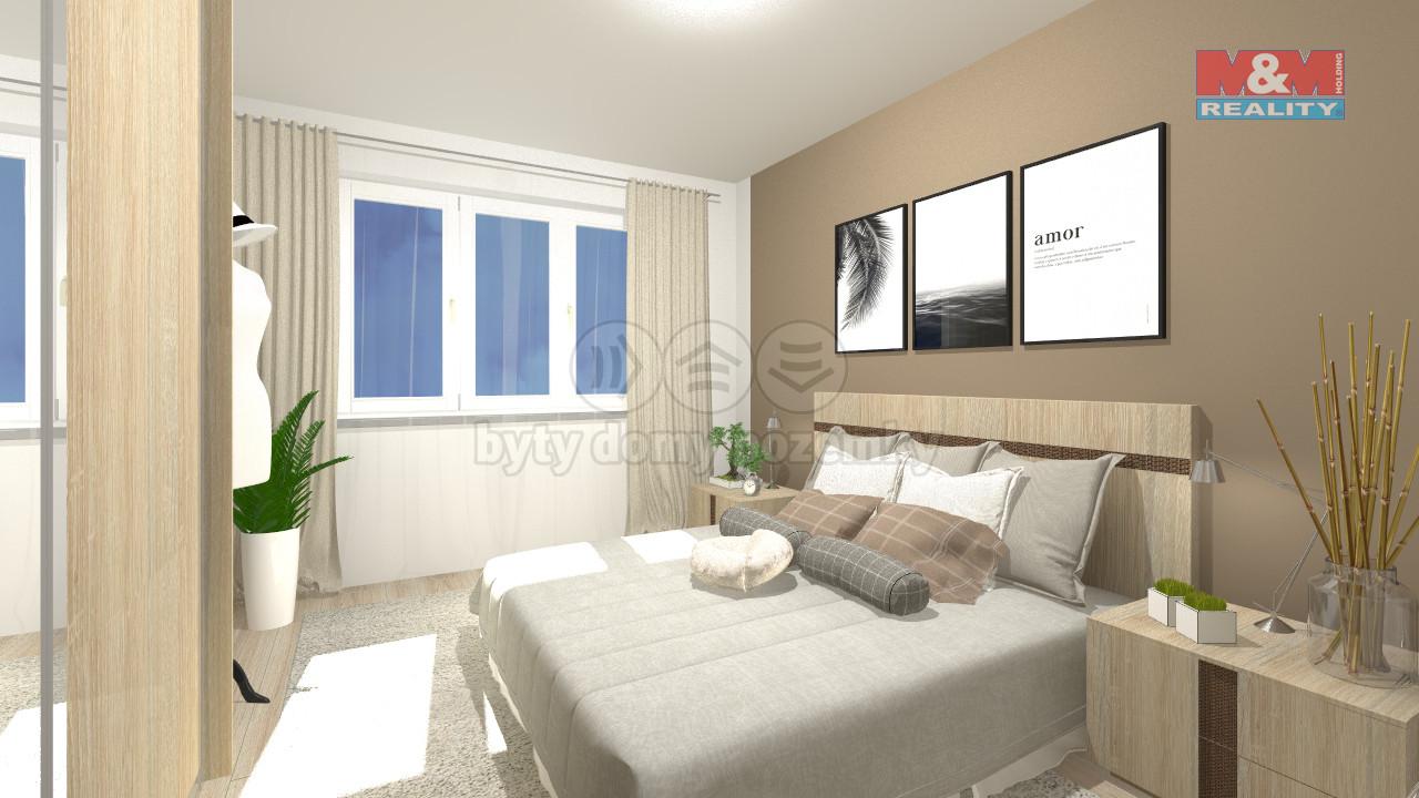Prodej bytu 3+kk, 61 m2, Praha 5 - Košíře
