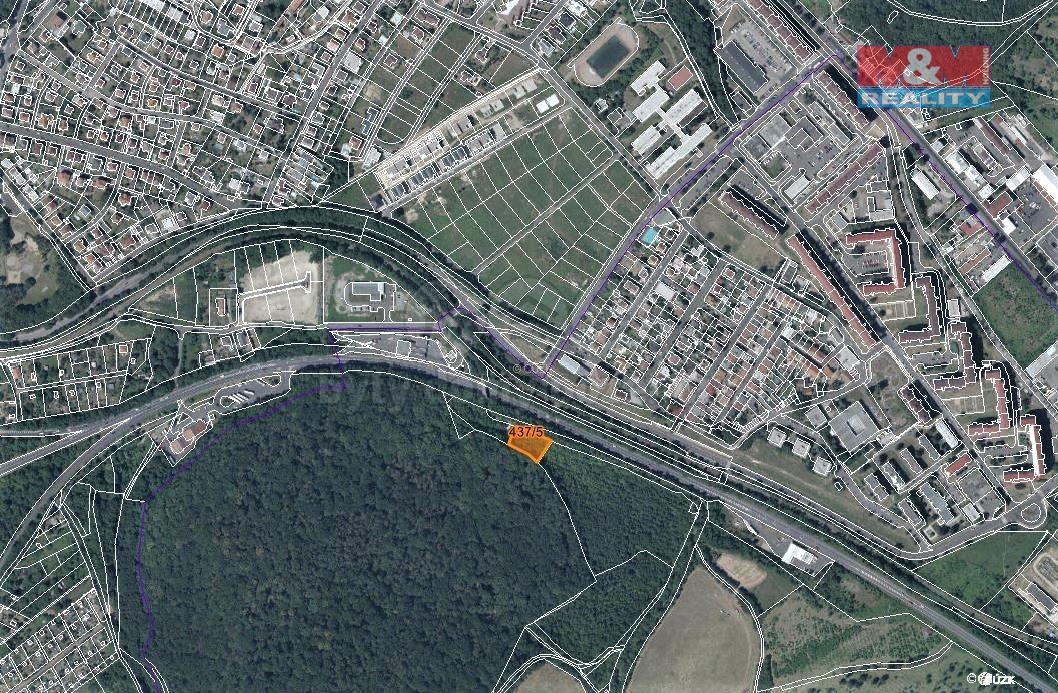 Prodej zahrady, 1386 m², Teplice-Prosetice