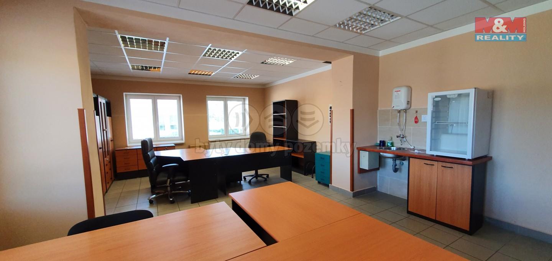 Pronájem, kancelářský prostor, 400 m², nábř. Dr. E. Beneše