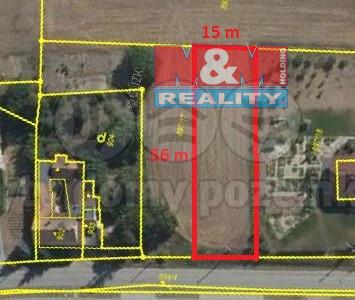 Prodej pozemku k bydlení, 840 m², Holubice
