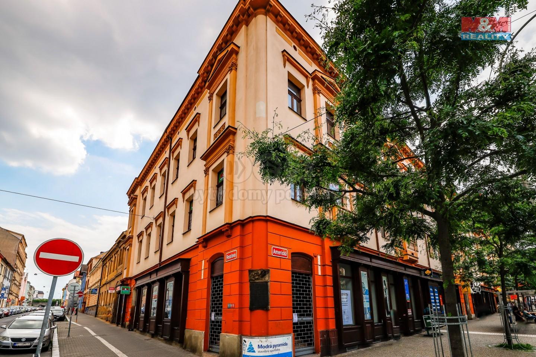 Pronájem, byt 1+1, Plzeň, ul. Resslova