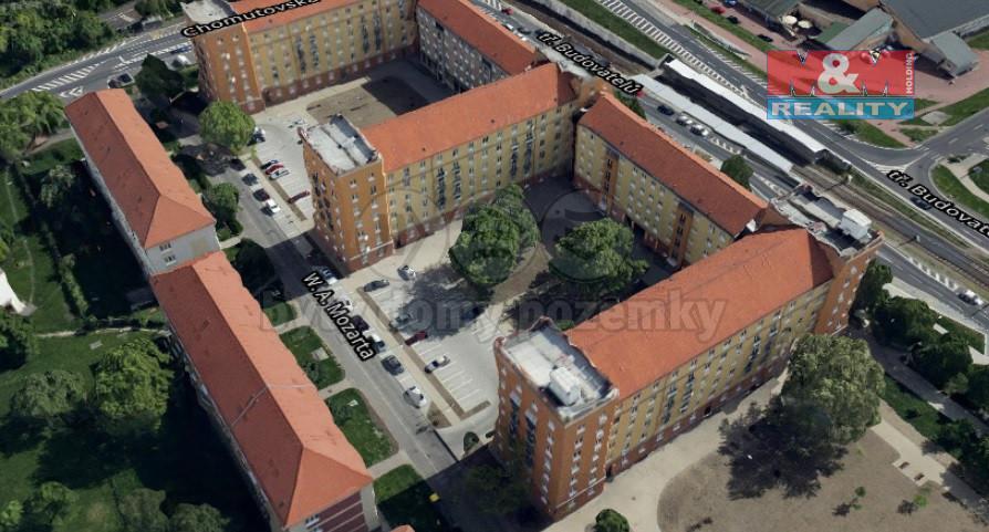 Pronájem bytu 1+1, 34 m², OV, Most, ul. tř. Budovatelů