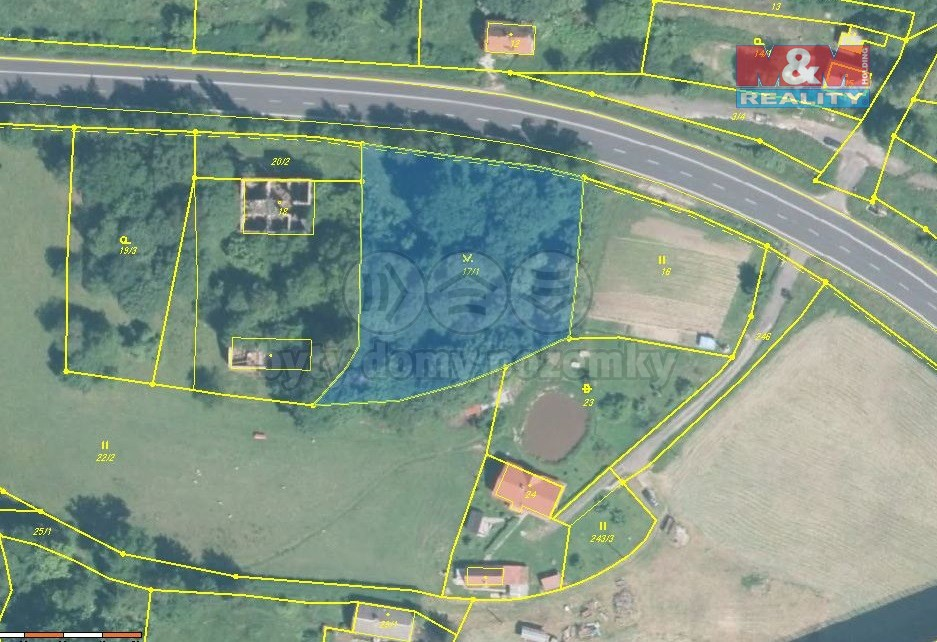 Prodej pozemku, 3204 m², Kynšperk nad Ohří - Kamenný Dvůr