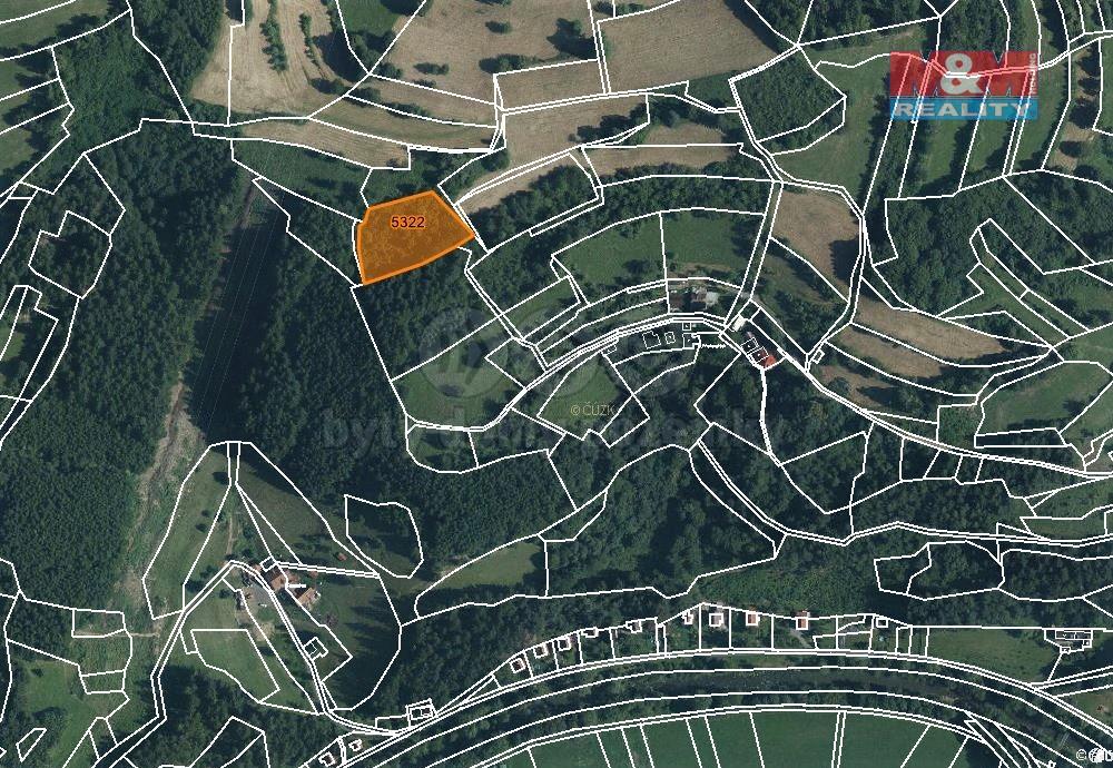 Prodej louky, 3025 m², Huslenky