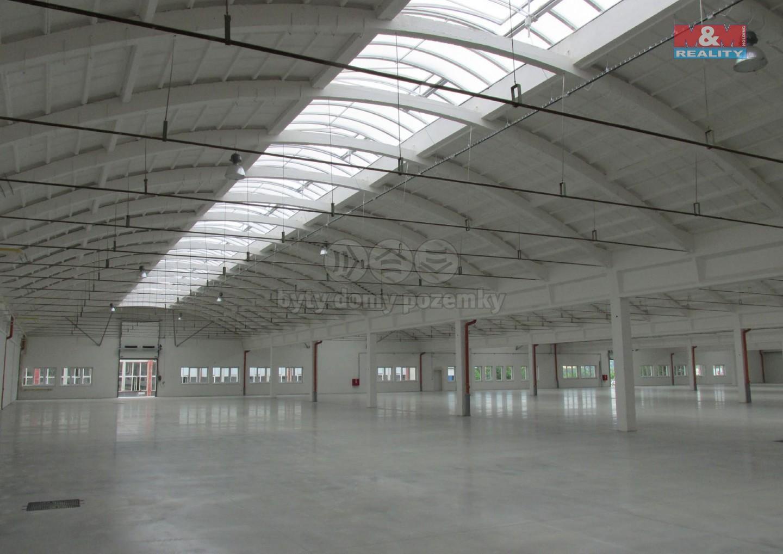 Pronájem, skladové a výrobní prostory, Rousínov