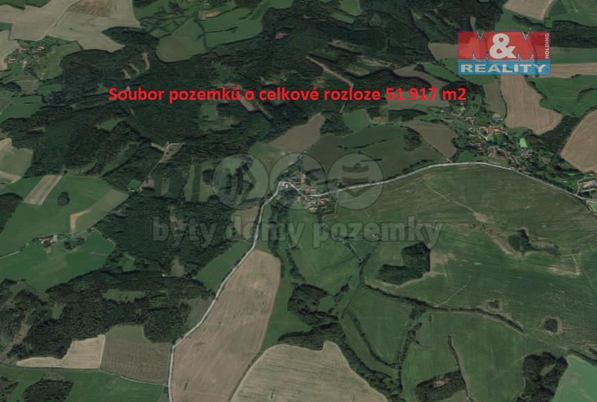 Prodej pole, 58 181 m², Jankov