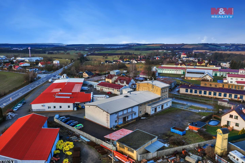 Prodej obchodního objektu, 2304 m², Sobotka, ul. Špálova