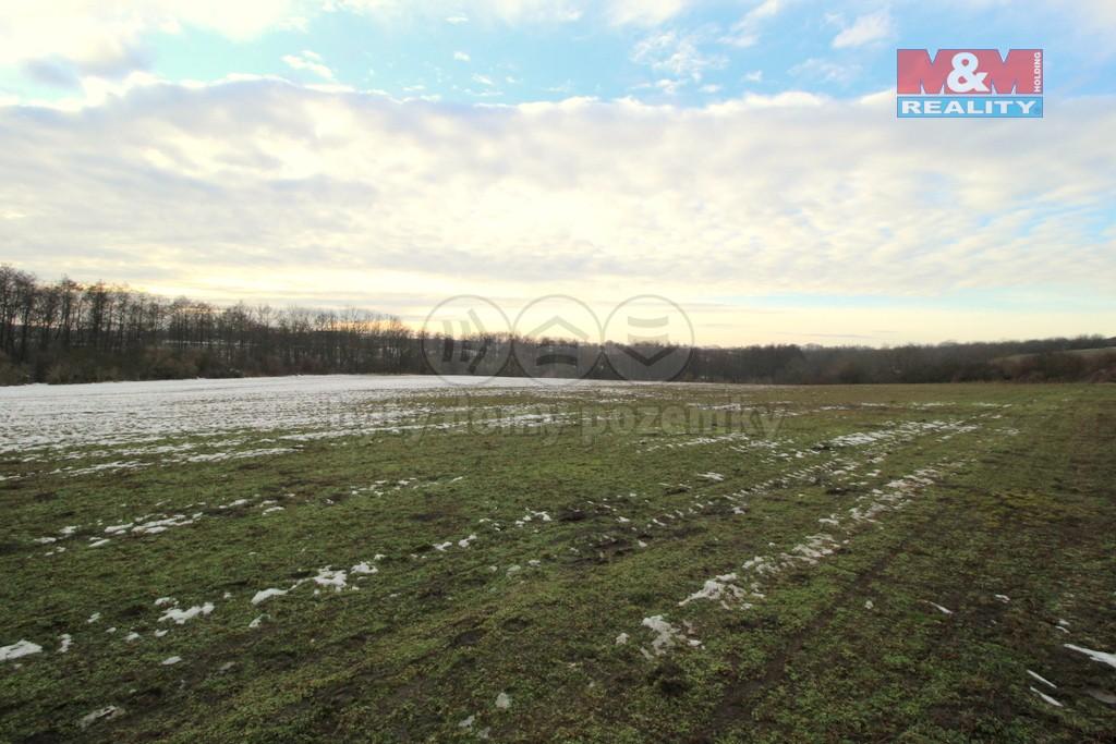 Prodej pole, 15085 m², Vykáň