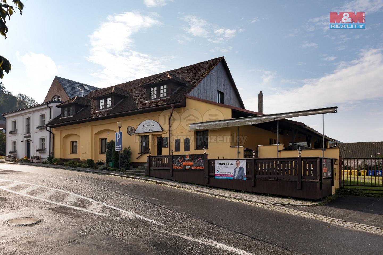 Prodej hotelu, penzionu, 440 m2, Hukvaldy