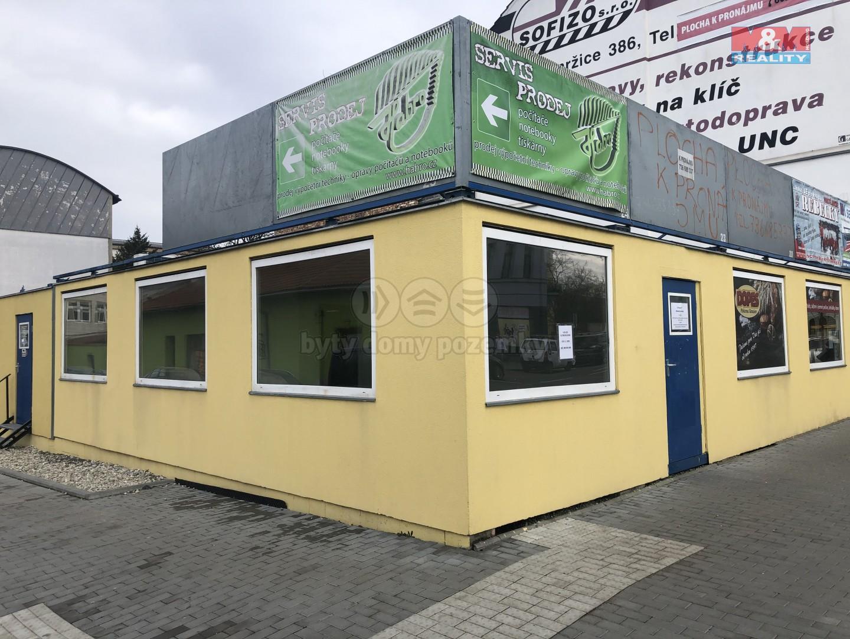 Pronájem obchod a služby, 28 m², Prostějov, ul. Plumlovská