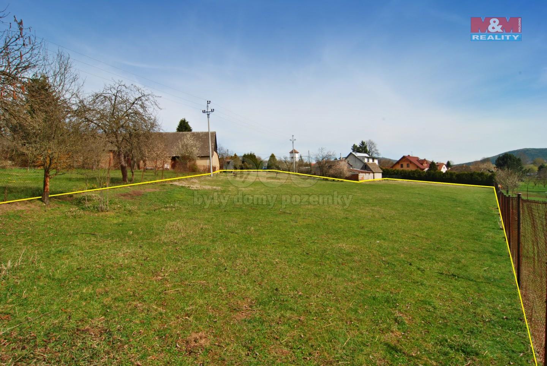 Prodej pozemku k bydlení, 3800 m², Zvěstov - Libouň