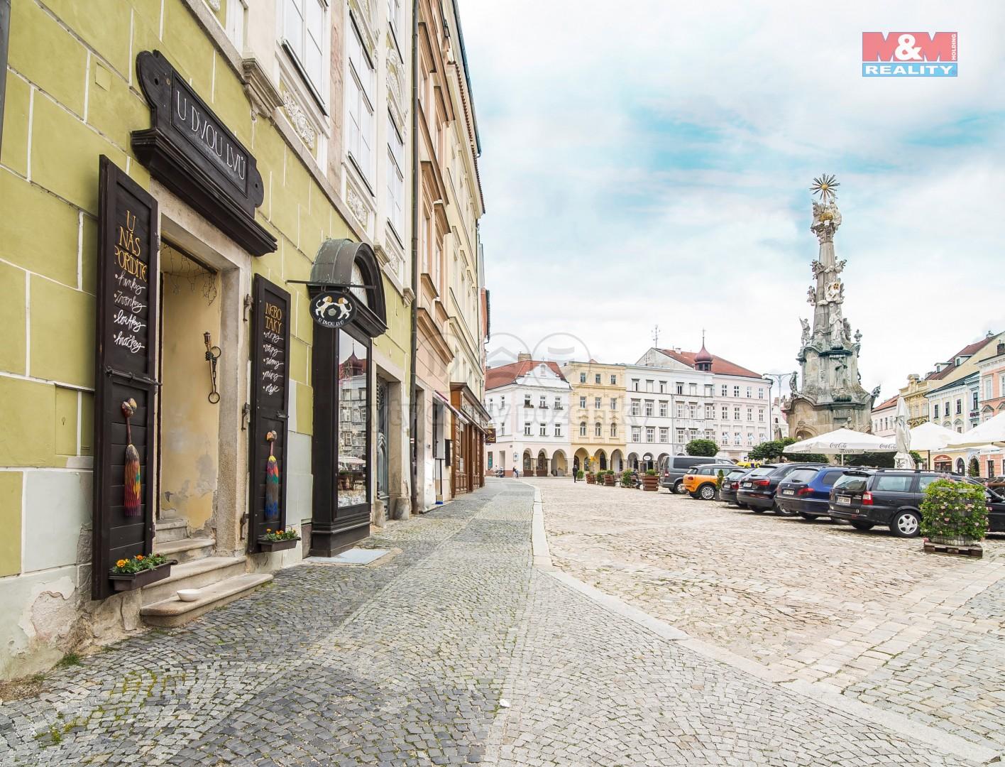 Pronájem obchodu, 135 m², Jindřichův Hradec, nám. Míru