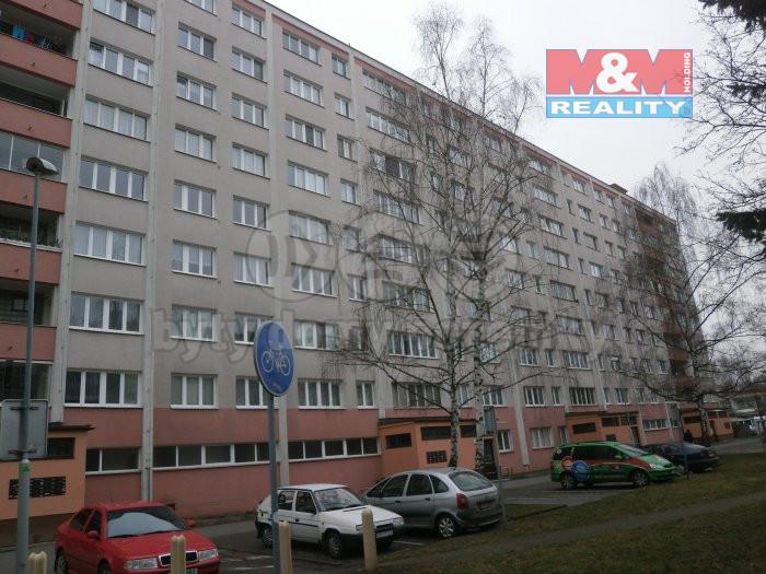 Pronájem bytu 1+kk, 29 m², Pardubice, ul. Mladých