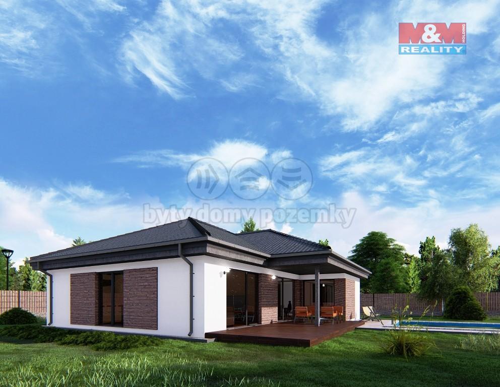 Prodej, rodinný dům, 4+kk, 114 m2, Nový Čestín,Mochtín