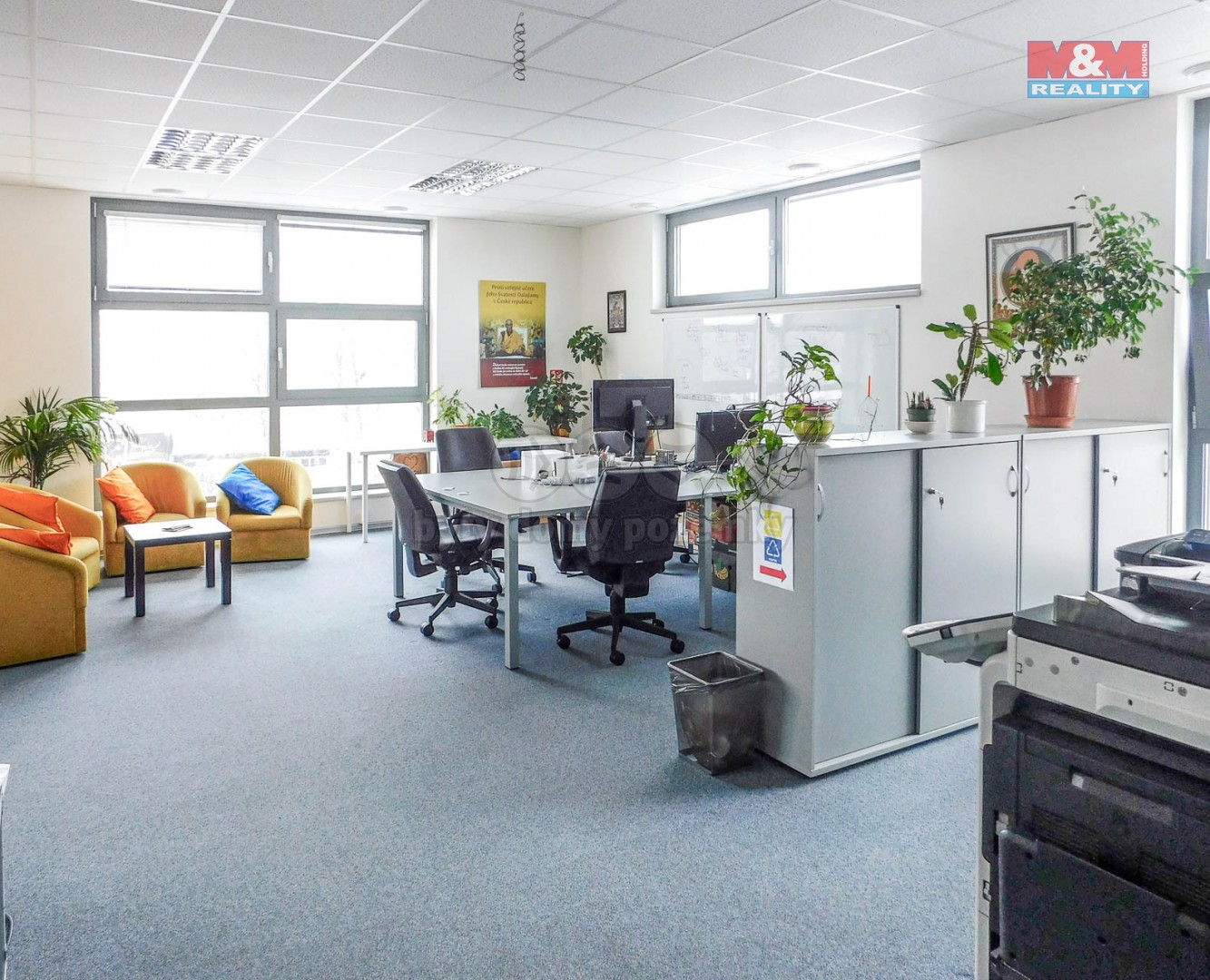 Pronájem kancelářského prostoru, 42 m², Praha 5 - Smíchov