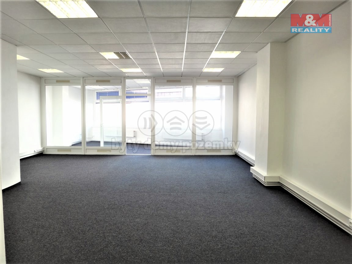 Pronájem kancelářského prostoru, 110 m², Kladno - centrum