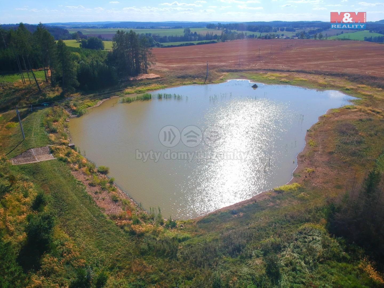 Prodej vodní plochy, 25656 m², Černíč, ul. Myslůvka