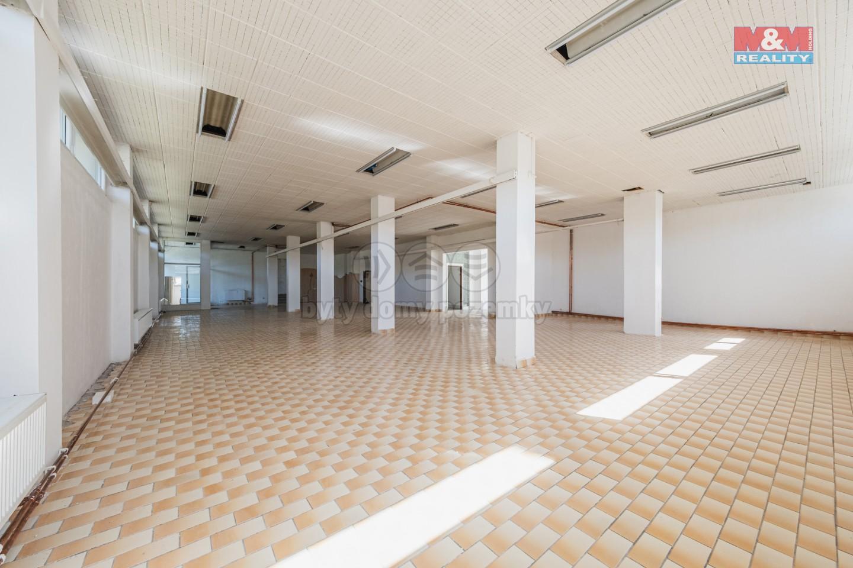 Pronájem obchod a služby, 320 m², Vlašim, ul. Divišovská