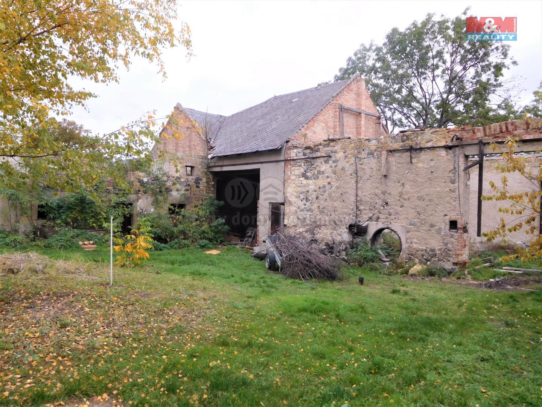 Prodej stodoly, 700 m², Chožov-Mnichovský Týnec