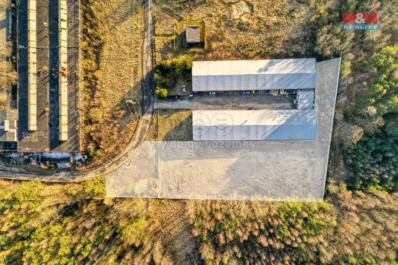 Pronájem provozní plochy, 4000 m², Horní Bříza