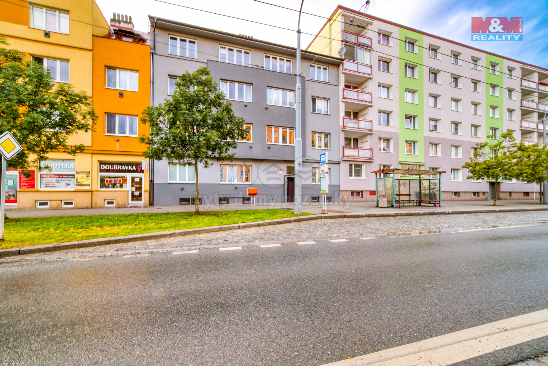 Pronájem, byt 2+kk, Plzeň, ul. Masarykova