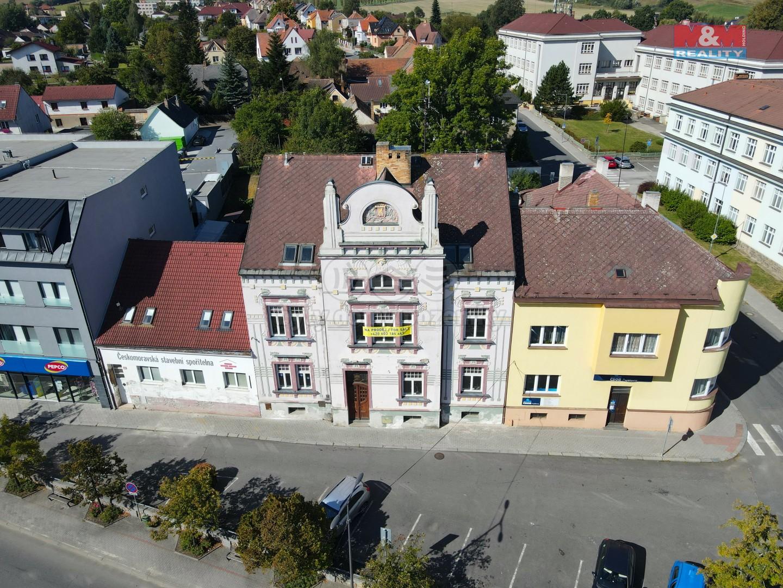 Prodej nájemního domu, 840 m², Milevsko, ul. Husovo nám.