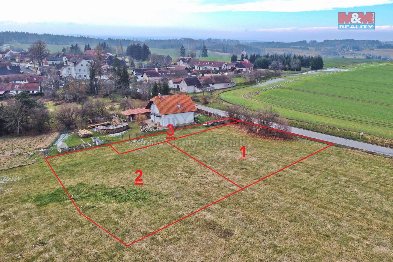 Prodej pozemku k bydlení, 1155 m², Kozlov - Vrbka