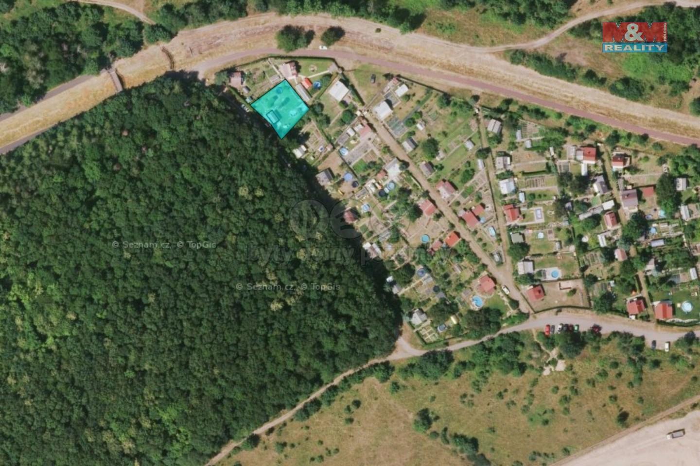 Prodej zahrady 408 m2 s chatkou v Litvínově