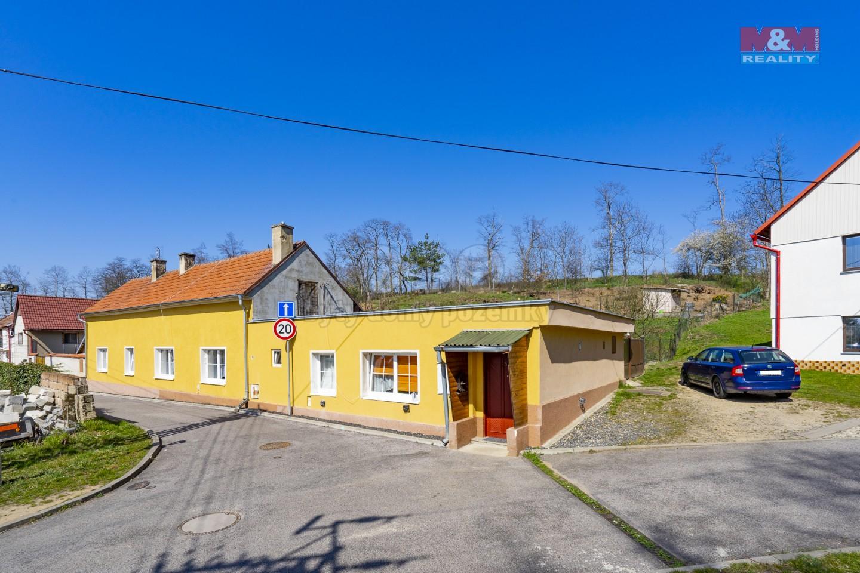 Prodej, rodinný dům, 2x 2+1,1x 3+1,640m2, Straškov-Vodochody