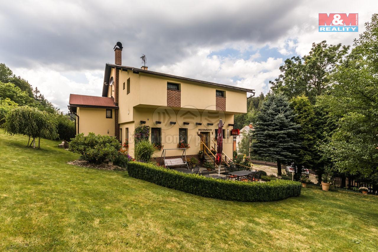 Prodej penzionu, 1800 m², Smržovka, ul. Kostelní